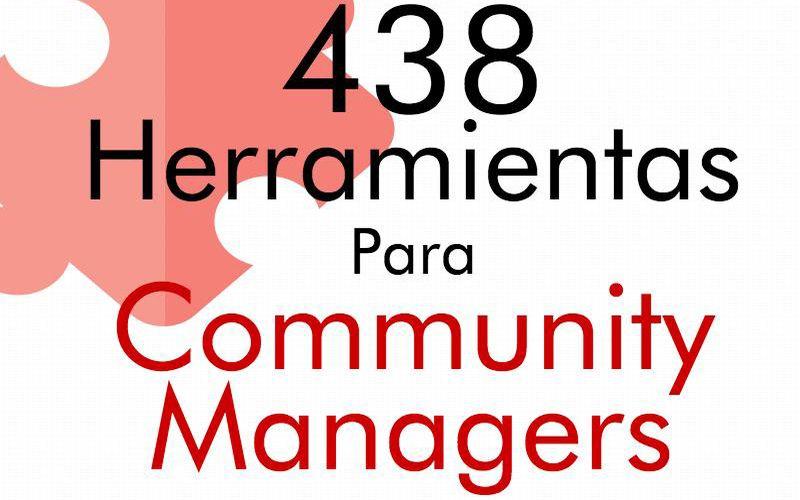 Más de 430 utilidades para Community Managers (infografía)