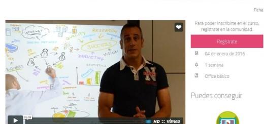 Curso en línea, y gratuito, sobre Presentaciones Digitales