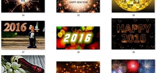 """30 imágenes gratuitas y de gran calidad para decir """"Feliz 2016"""""""
