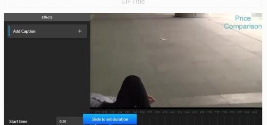 Convierte vídeos en GIFs animados y compártelos