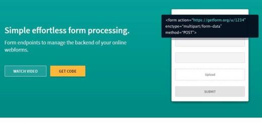 Getform: crea e integra fácilmente formularios web en tu sitio