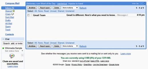 Gmail: el servicio de Google que reinventó el correo electrónico