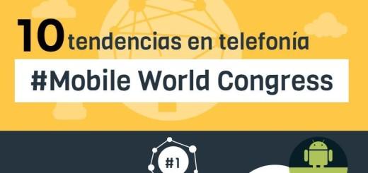 Diez Tendencias en Telefonía MWC 2016 (infografía)