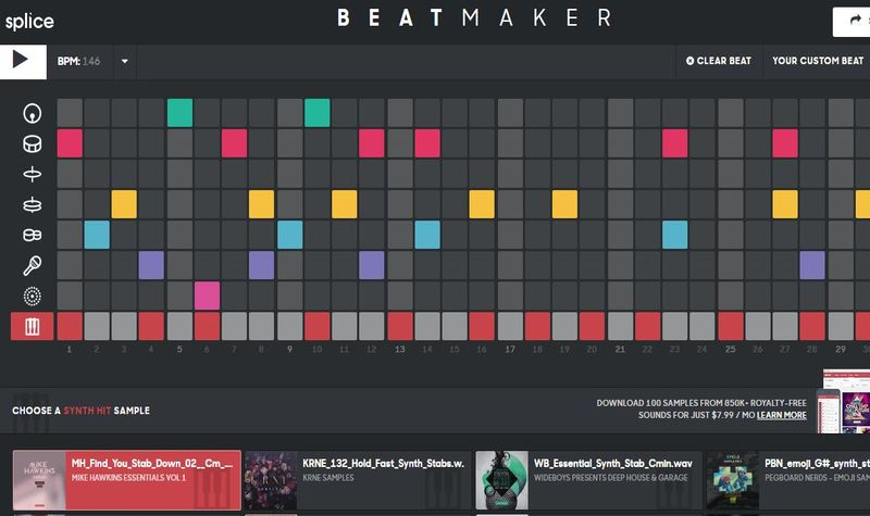 Beat Maker: crea tus propios ritmos desde la web