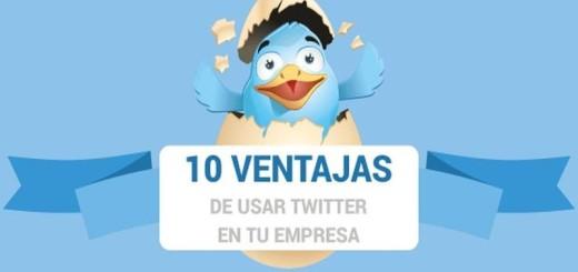 10 Beneficios de Twitter para tu Empresa (infografía)