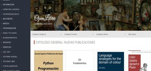 La Biblioteca online OpenLibra se renueva por completo