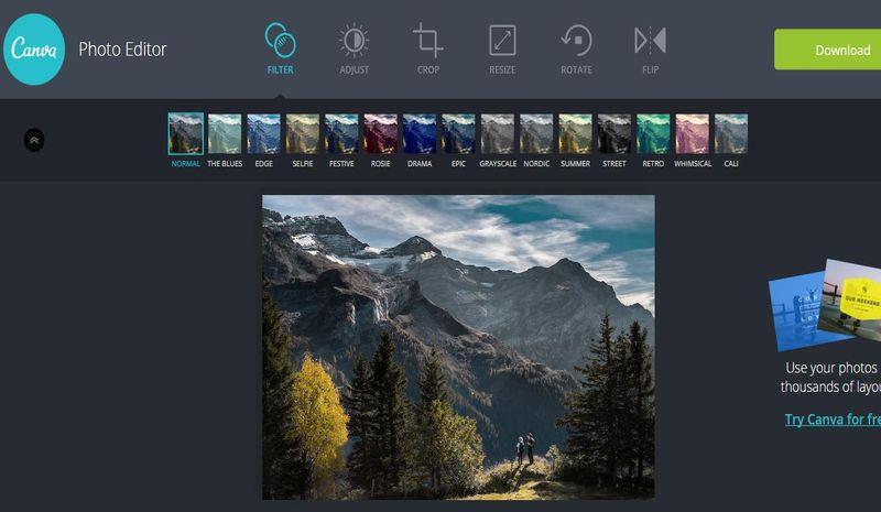 Canva Photo Editor: editor de fotos online de los creadores de Canva