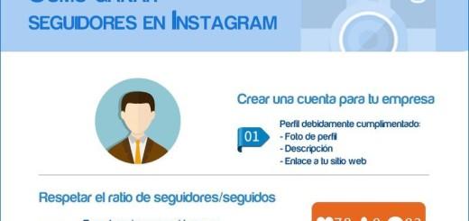 ¿Cómo conseguir seguidores en Instagram? (infografía)