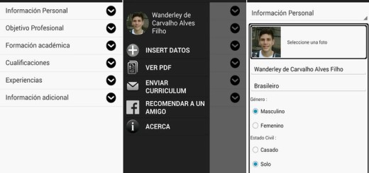 Curriculum Manager: app Android para crear tu Currículum