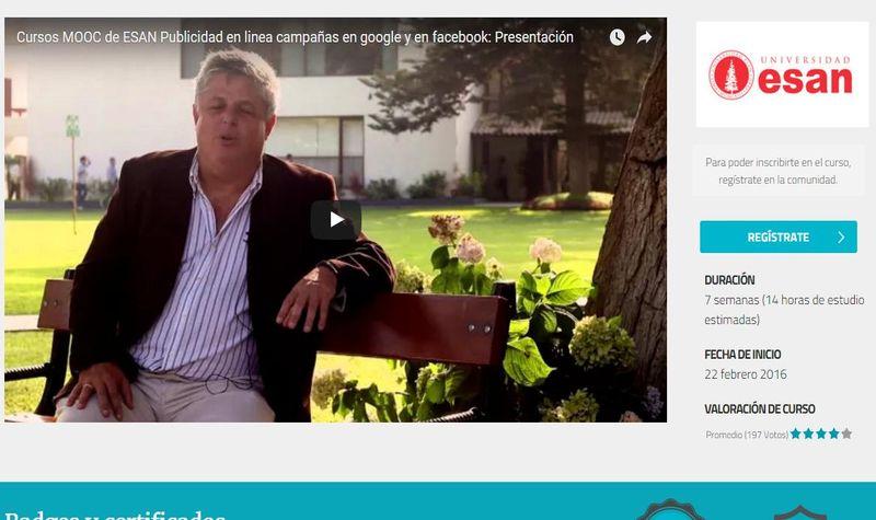 Curso gratuito de Publicidad Online: Campañas en Facebook y Adwords