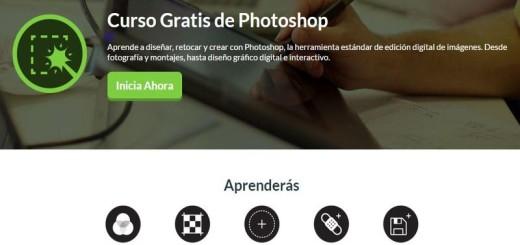 Curso gratuito de Photoshop, ¿te apuntas?