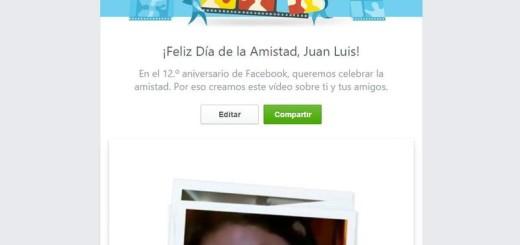 ¿Has visto tu vídeo personalizado del Día de la Amistad de Facebook?