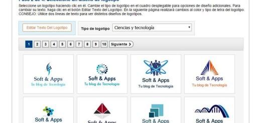 FreeLogoServices: crea tu logo, o el de tu empresa, gratis y online