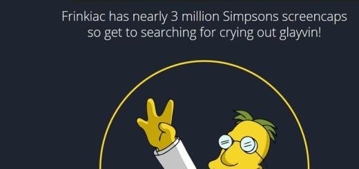 Frinkiac: buscador de escenas de Los Simpson