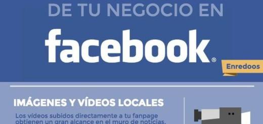 ¿Cómo hacer más visible tu negocio en Facebook? (infografía)