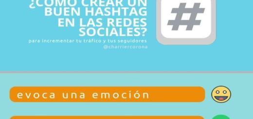 Cómo crear Hashtags efectivos en las Redes Sociales (infografía)