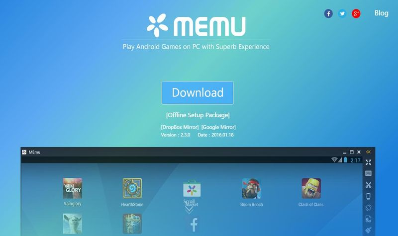 MEmu: un emulador de juegos Android para PC