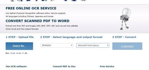 Online OCR: extrae el texto de documentos PDF e imágenes
