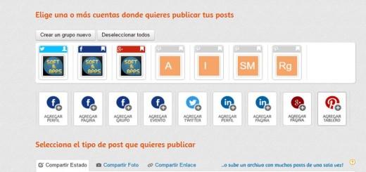 Programar post sociales fácilmente con Postcron
