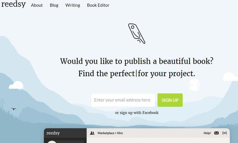 Reedsy: plataforma web para crear y editar tus eBooks