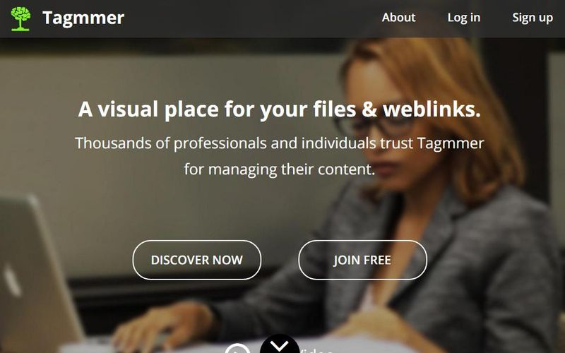 Tagmmer Tagmmer: híbrido entre almacenamiento online (30 Gb gratis) y curación de contenidos