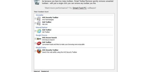Toolbar Remover: elimina las molestas barras de herramientas del navegador