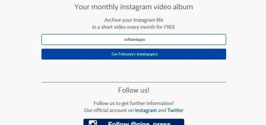 30dayspics: genera vídeos con tus fotos de Instagram del último mes