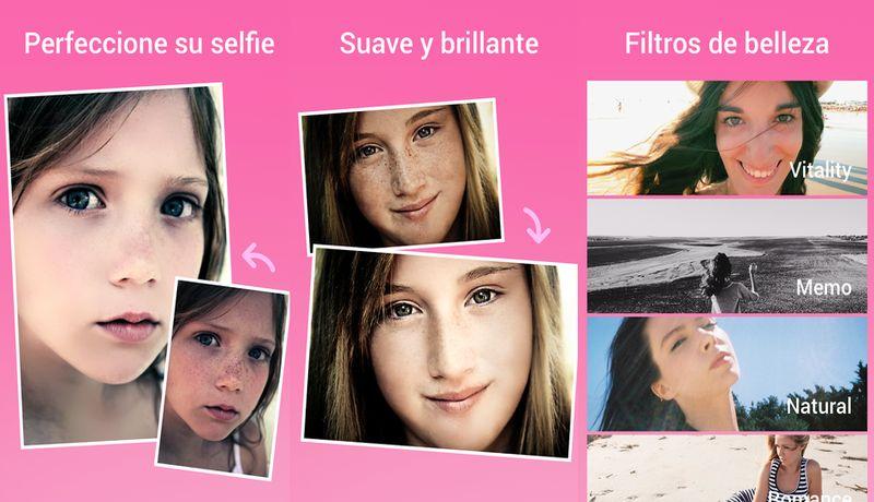 Beauty Camera: app Android que elimina manchas del rostro y alisa la piel