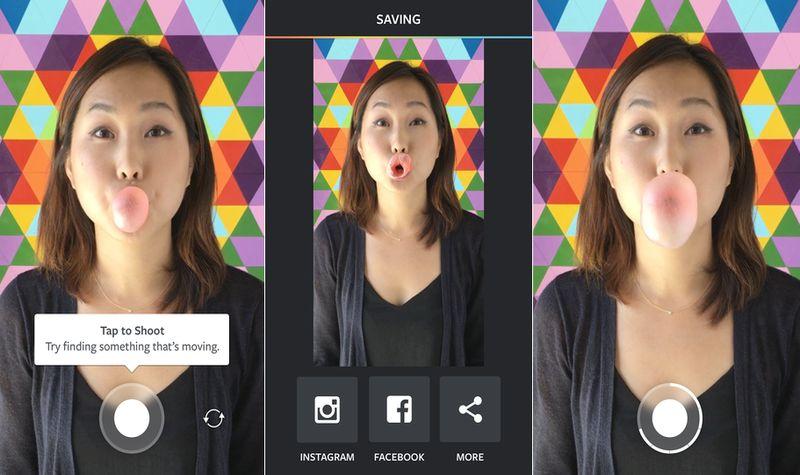 Boomerang: app para crear vídeos a partir de ráfagas de fotos