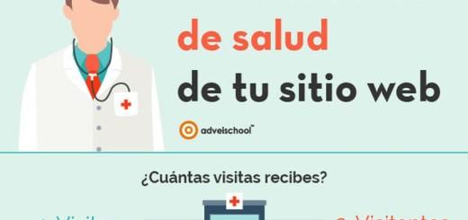 Checklist para comprobar la salud de tu web o blog (infografía)