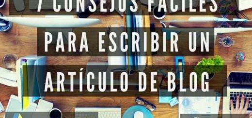 Consejos para Escribir mejores Articulos para tu Blog