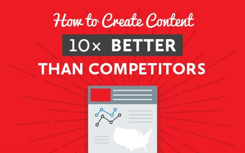 ¿Cómo crear 10 veces mejor contenido que la competencia? (infografía)