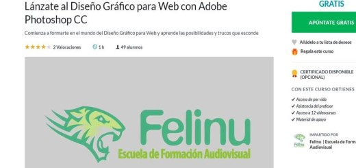 Diseño Grafico para Web con Adobe Photoshop CC