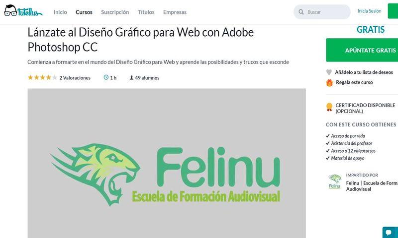 curso gratis de diseño gráfico para web con photoshop cc