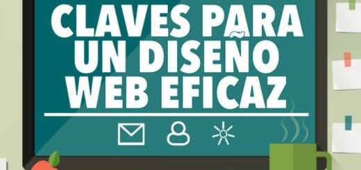 Diseño web eficaz, estas son las claves (infografía)