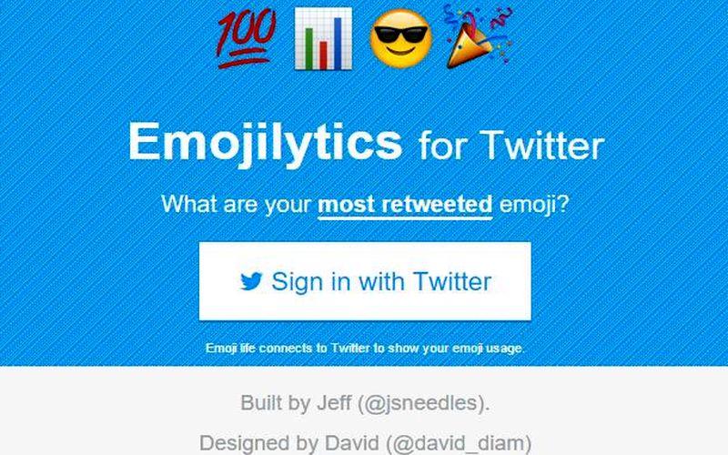 Emoji Life: ¿Analíticas del uso de Emojis en tu Twitter?