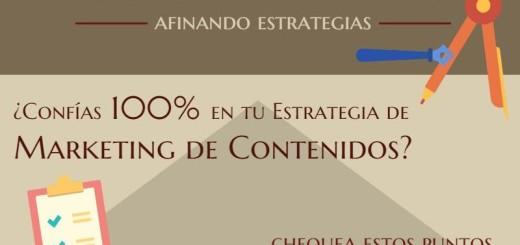 ¿Confías en tu Estrategia de Marketing de Contenidos? (infografía)