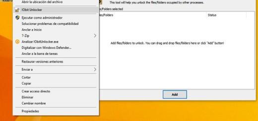 IObit Unlocker: software para forzar el borrado de archivos que se resisten