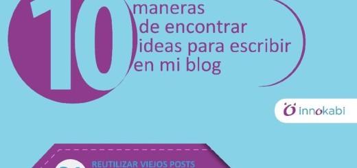 10 Ideas para Escribir en tu Blog cuando te bloqueas (infografía)