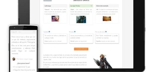 Rollpath: librojuego de aventura para Android que te cautivará
