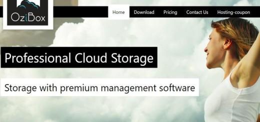 OziBox: 10 GB gratis para almacenar archivos en la nube