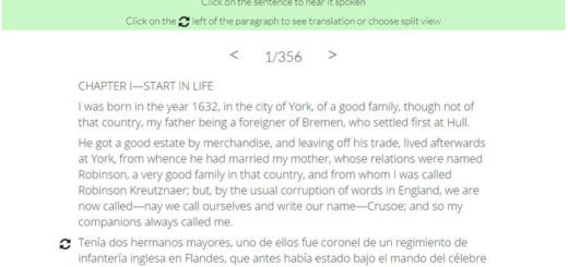 Paralleltext - aprender idiomas leyendo