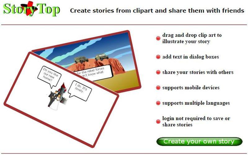 StoryTop: crea viñetas con esta utilidad web gratuita