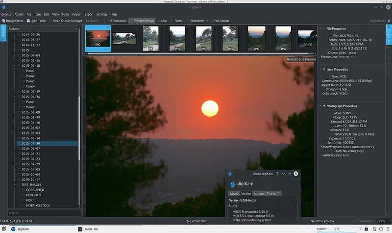 digiKam2 digiKam: software gratis para organizar, visualizar y editar tus fotos