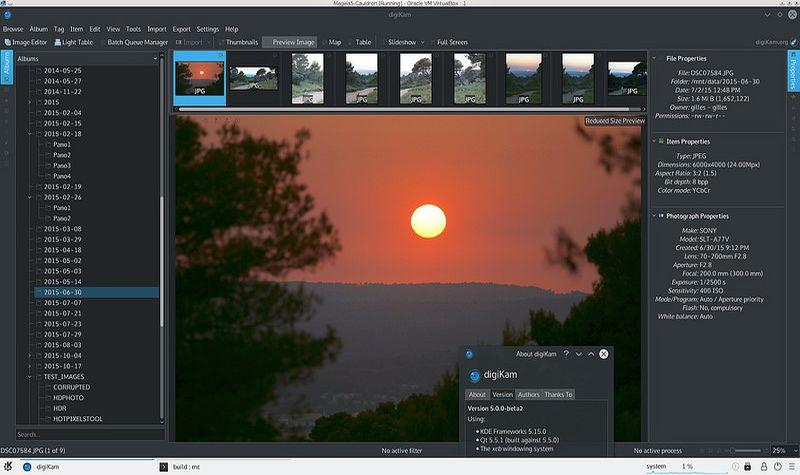 digiKam: software gratis para organizar, visualizar y editar tus fotos