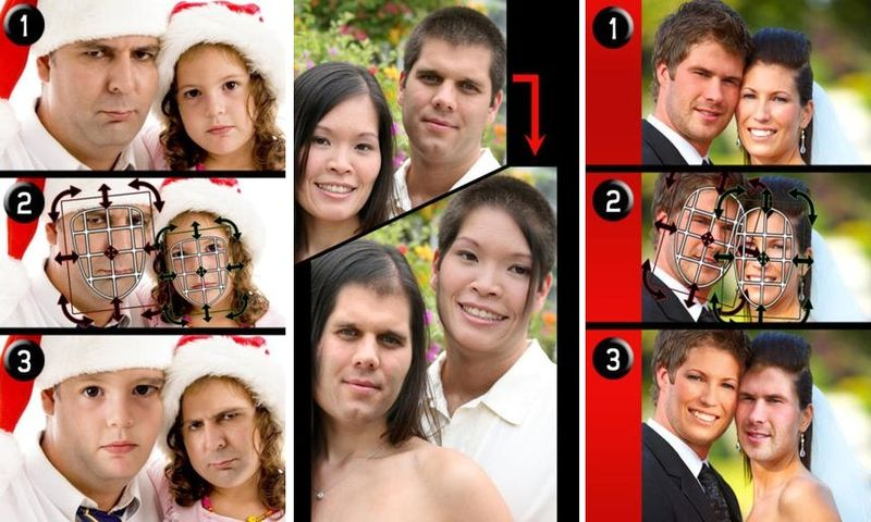 iSwap Faces LITE: cambia las caras de las personas de una foto (iOS)