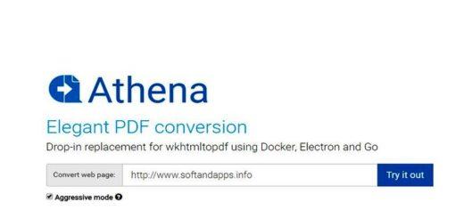 Athena PDF: convierte online cualquier web en PDF