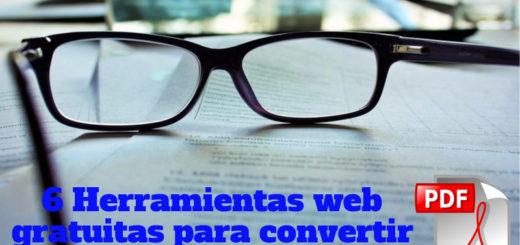 ConvertPDFto: 6 herramientas web para convertir documentos PDF