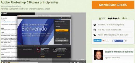 Curso gratuito para iniciarse con Adobe Photoshop CS6