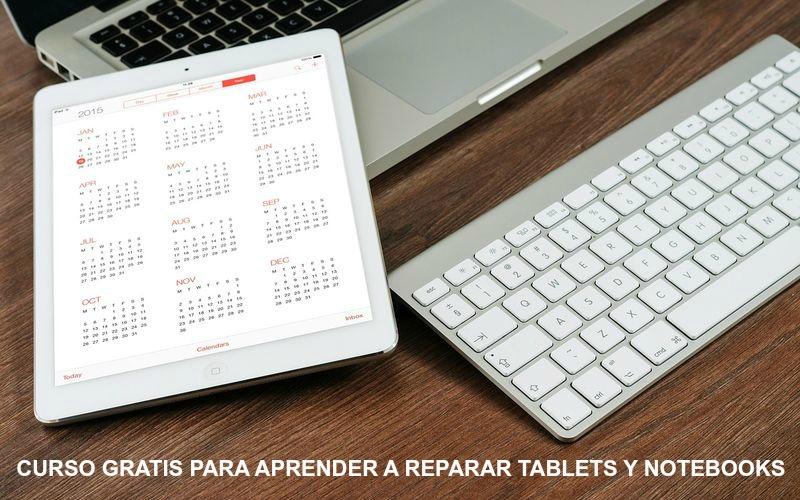 Curso gratuito para aprender a reparar tablets